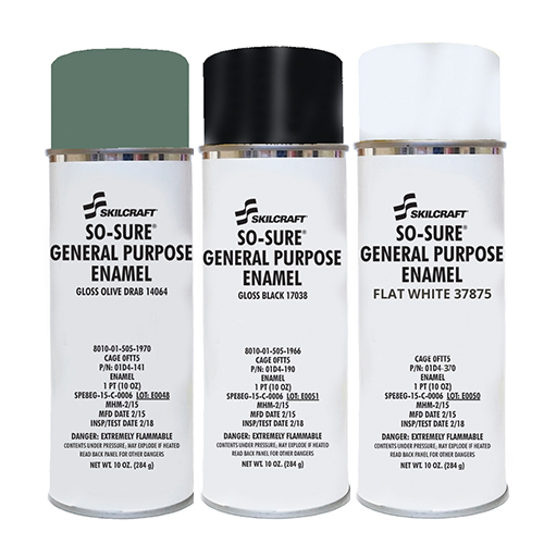 So Sure General Purpose Enamels
