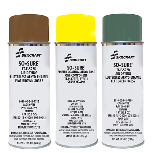 SKILCRAFT Aerosol Paint And Enamels