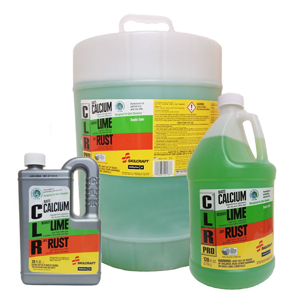 CLR Calcium, Lime, Rust Remover