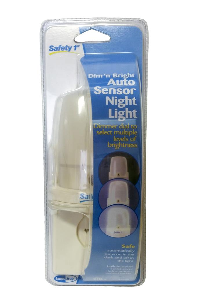 Dim 'n Bright Auto Sensor Nightlight