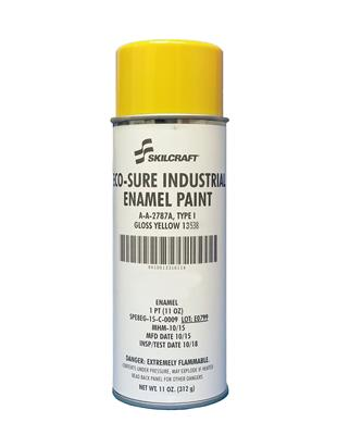 ECO SURE ENAMEL A-A-2787 GLOSS YELLOW 13538