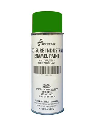 ECO SURE ENAMEL A-A-2787 GLOSS GREEN 14062