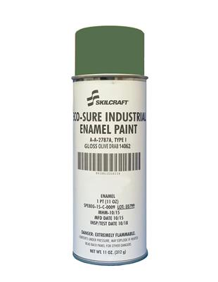 ECO SURE ENAMEL A-A-2787 GLOSS OLIVE DRAB 14064