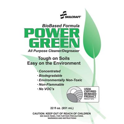 Power Green 55 Gallon Drum